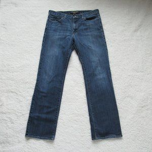 Lucky Brand Blue Jeans 361 Vintage Straight 32x32